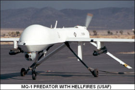 The Predator remotely piloted drone, which allows the killing of Afghan civilians to become a video game for controllers at US bases in Nevada.
