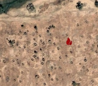 Village destroyed in Darfur