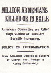 New York Times headline ongenocide