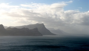 looking north from Cape Point
