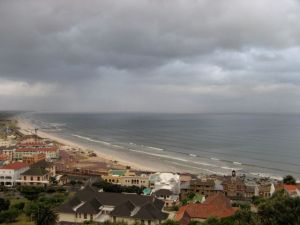 Muizenberg and False Bay, from Boyes Drive